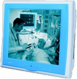 """Profesjonalny terminal medyczny z ekranem LCD 19"""" oraz procesorem Intel Core 2 Duo"""