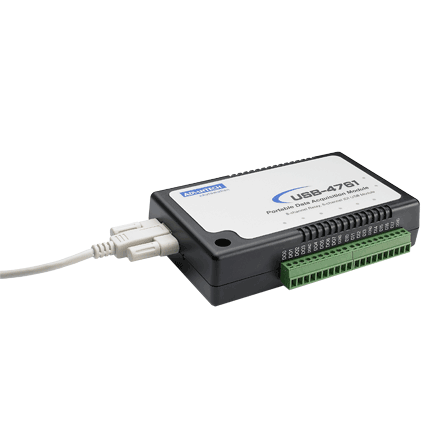 8-ch Relay and 8-ch Isolated DI USB Module