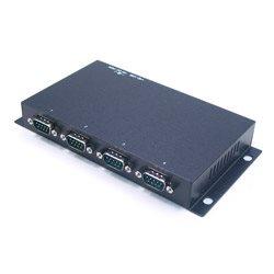 4 porty RS-232 na USB 2.0, optoizolacja i zab. przeciwprzepięciowe, złącza DB9 | UTS-404A-SI