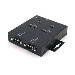 2 porty RS-232/422/485 na USB 2.0, złącza DB9 | UTS-402CK-SI