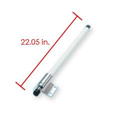 Antena dookólna zewnętrzna, ANT-OM-2408