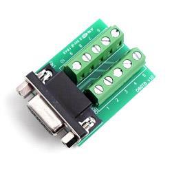 Adapter DB9F do TerminalBlock, PARANI-DB9FTB