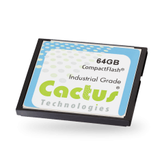 Karta CF, SLC, 8GB, 0°C~+70°C, Seria 503