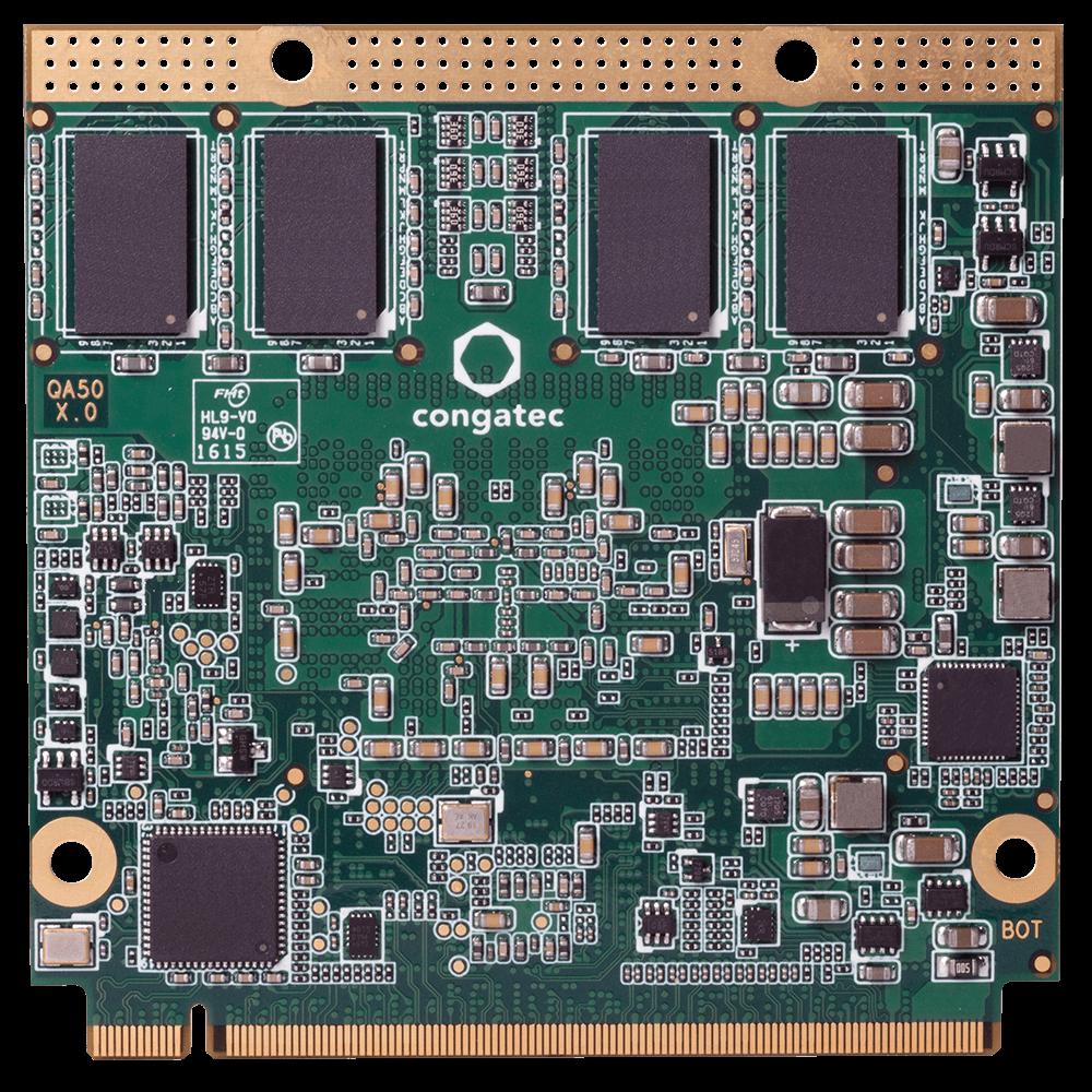 Qseven, Celeron J3455, 4GB DDR3L, 16GB eMMC, 0°C~60°C