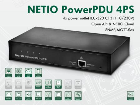 zasilacz NETIO PowerPDU 4PS