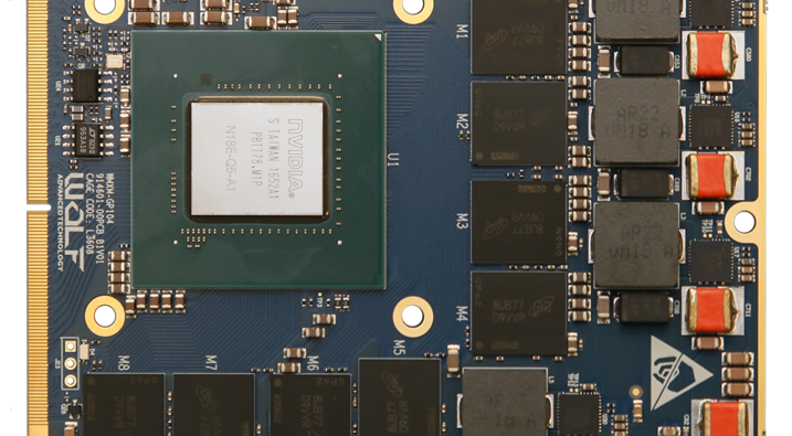 procesory NVIDIA