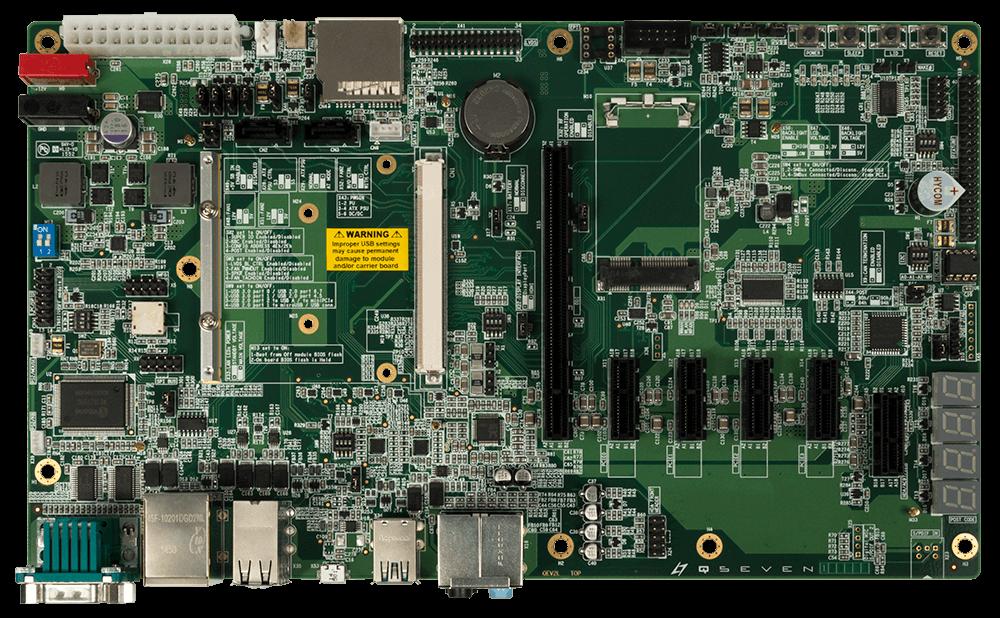 Evaluation Carrier Board Qseven 2.0