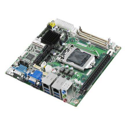 Płyta główna Mini-ITX, Socket gen.4, Q87, HDMI/DP, LAN, 2COM, 10USB, 2SATA, mPCIe, PCIex16, 0°C~60°C