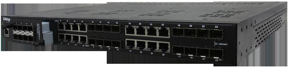Modułowy zarządzalny Gigabit Ethernet  Switch, IEC 61850-3- RGS-P9160GCM1-HV