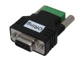Adapter DB9, DB9-TB5-01